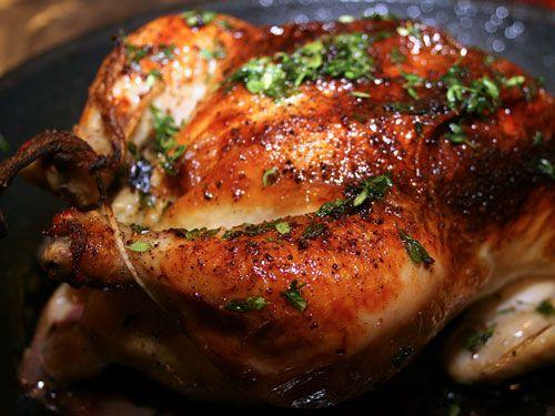 طرز تهیه مرغ بریان خانگی بدون فر