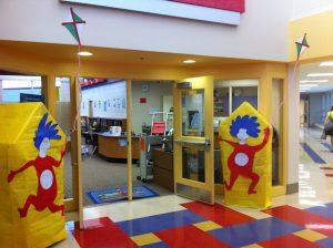 کتابخانه خلاقانه برای کودکان