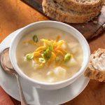 طرز تهیه سوپ سیب زمینی خوشمزه و مخصوص