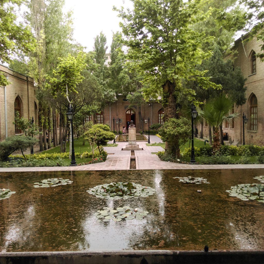 آشنایی با باغ تاریخی نگارستان تهران