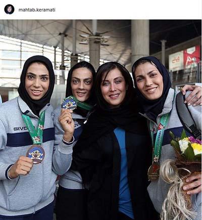 عکس هنرمندان ایرانی برای آبان ماه 96