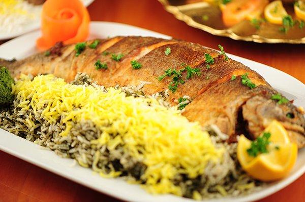 طرز تهیه ماهی شکم پر خوشمزه
