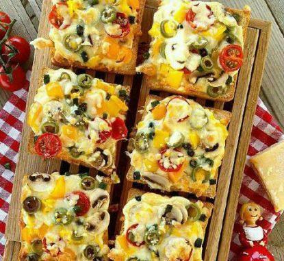 خوراک با مرغ و سبزیجات مخصوص