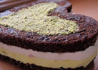 طرز تهیه کیک بستنی شکلاتی و خوشمزه