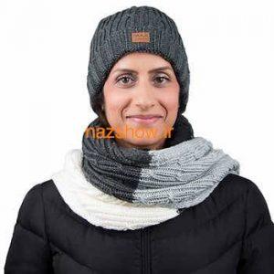 مدل کلاه و شال گردن دخترانه