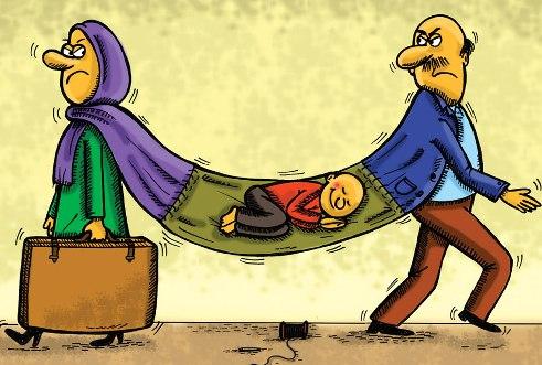 آسیب طلاق بر روی فرزندان را جدی بگیرید