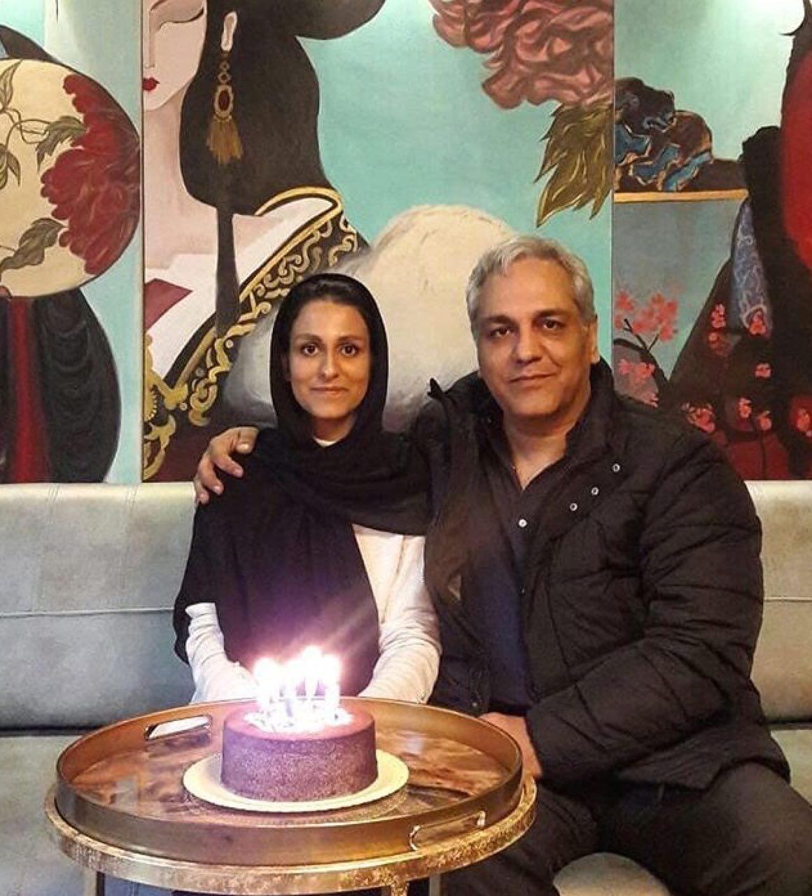 عکس مهران مدیری در شب تولد دخترش