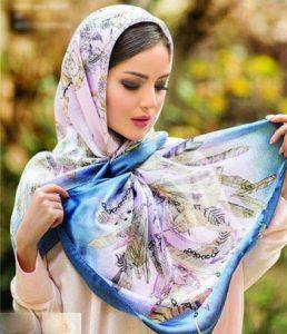 مدل شال و روسری جدید