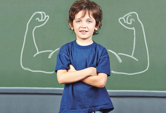 بالا بردن اعتماد به نفس کودک به روش ساده