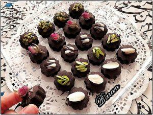 شیرینی بهشتی کاکائویی