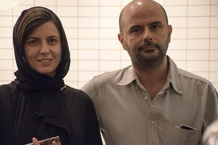 عکس جدید لیلا حاتمی و همسرش