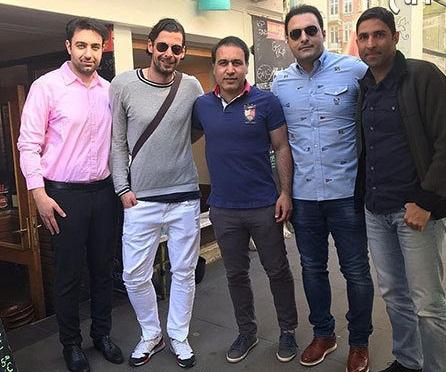 بازیکن محبوب ایران در یک قاب