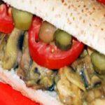 درست کردن ساندویچ مرغ و قارچ در منزل