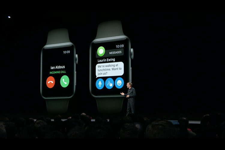 اپل واچ  او اس 5 با قابليت هاي فوق العاده