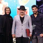 عکس حامد و لیلا در سریال پدر در جشن حافظ 97