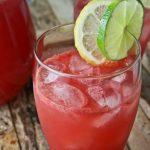 هندوانه لیمو نوشیدنی خنک روز های گرم تابستان