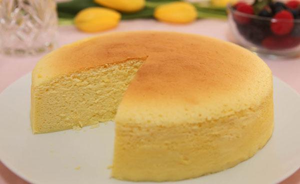 کیک ساده بدون فر برای مبتدی ها