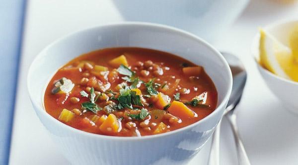 سوپ گوشت خانگی و خوش طعم