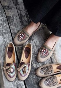 مدل کفش پاییزی دخترانه