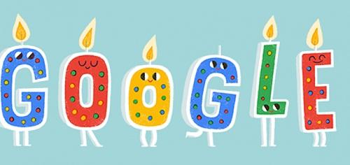 گوگل رفیق خوب بیست ساله شد.