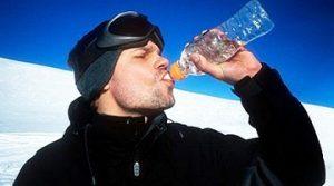 مصرف آب در زمستان