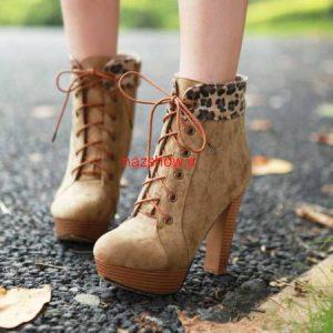 کفش نیم بوت دخترانه