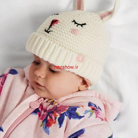 24 مدل کلاه بافتنی بچگانه جدید و زیبا