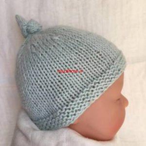 مدل کلاه بافتنی بچگانه