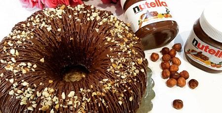 طرز تهیه کیک نوتلا مخصوص