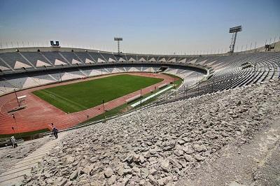 کلیپ ورزشگاه آزادی بازسازی شده برای فینال آسیا