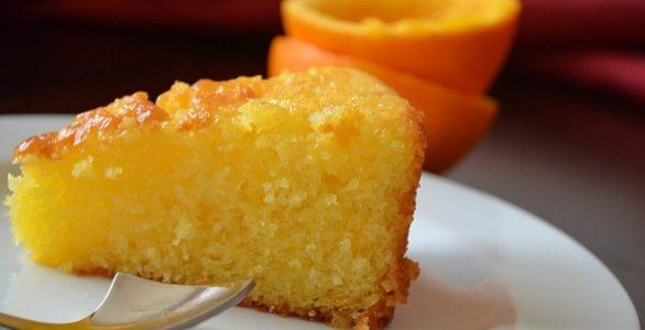 کیک پرتغالی خوشمزه خانگی