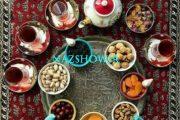 17 ایده برای تزیین سفره شب یلدا