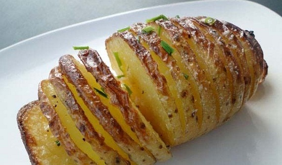 سیب زمینی تنوری ساده و خوشمزه