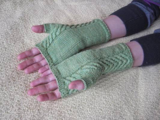 دستکش بافتنی دخترانه