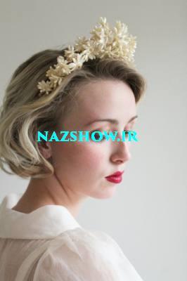 مدل مو کوتاه برای عروسی