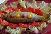 خوراک ماهی مخصوص خانگی