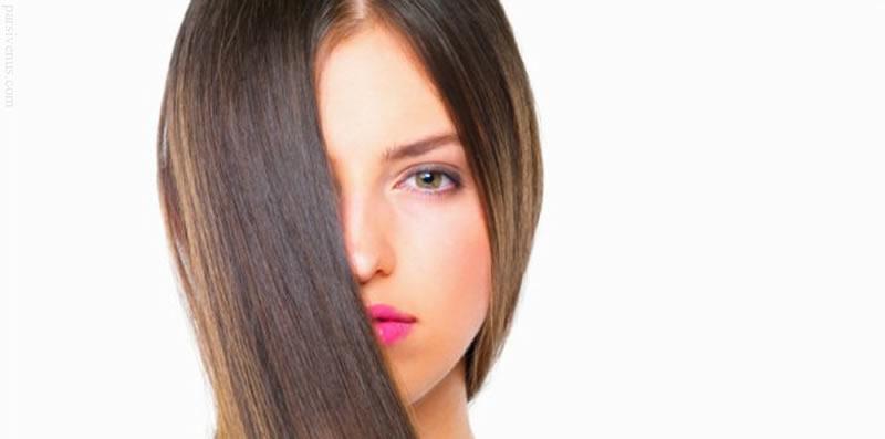 صاف کردن مو ساده و طبیعی