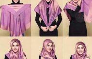 مدل بستن روسری جدید برای عید نوروز 1398