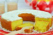 کیک زعفرانی خوشمزه خانگی