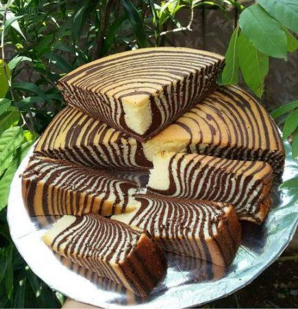 طرز تهیه کیک زبرا حرفه ای در خانه
