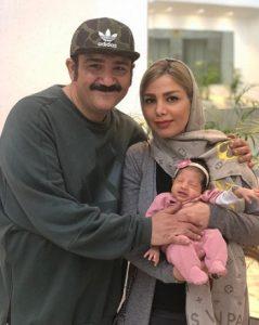 عکس بچه مهران غفوریان و همسرش