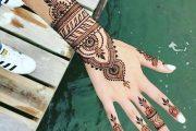 ۱۲ عکس از طرح حنا روی دست