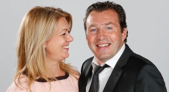 عکس مارک ویلموتس و همسرش