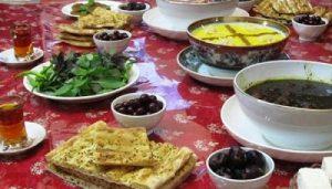 غذا هایی که در ماه رمضان