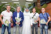 عکس برانکو و دستیاران در عربستان برای شروع کار جدید