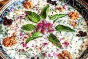 طرز تهیه آبدوغ خیار سنتی و خوشمزه