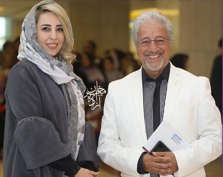 عکس جدید علیرضا خمسه و همسرش
