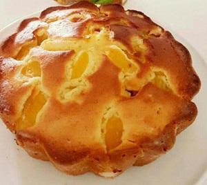 کیک زردآلو با طرز تهیه آسان