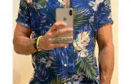 18 پیراهن گلدار مردانه آستین کوتاه