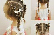 آموزش بافت مو دختر بچه